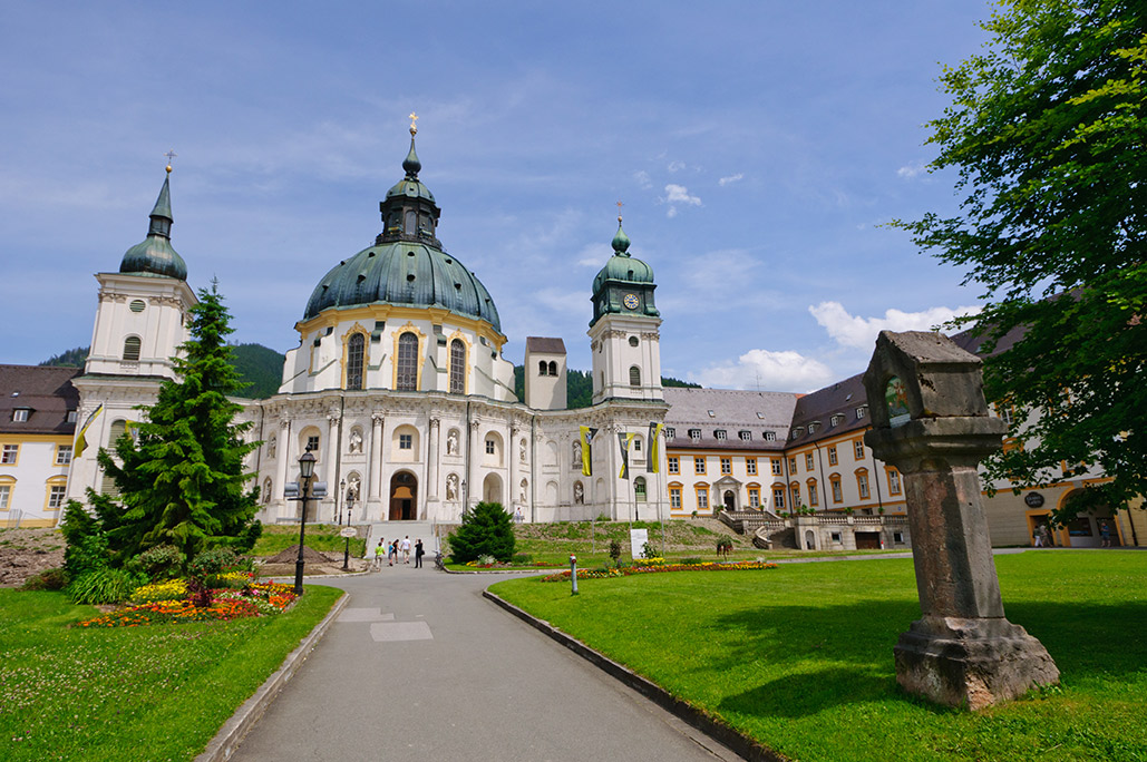 Bavarian Brotzeit and Ettal Monastery