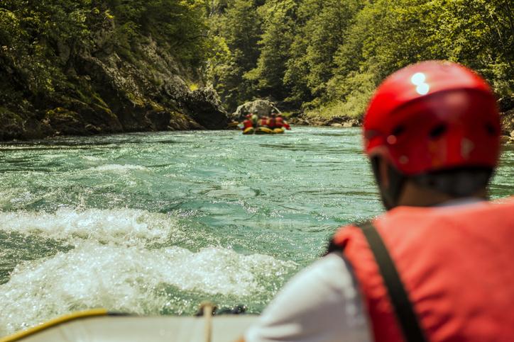 Flat Water Rafting
