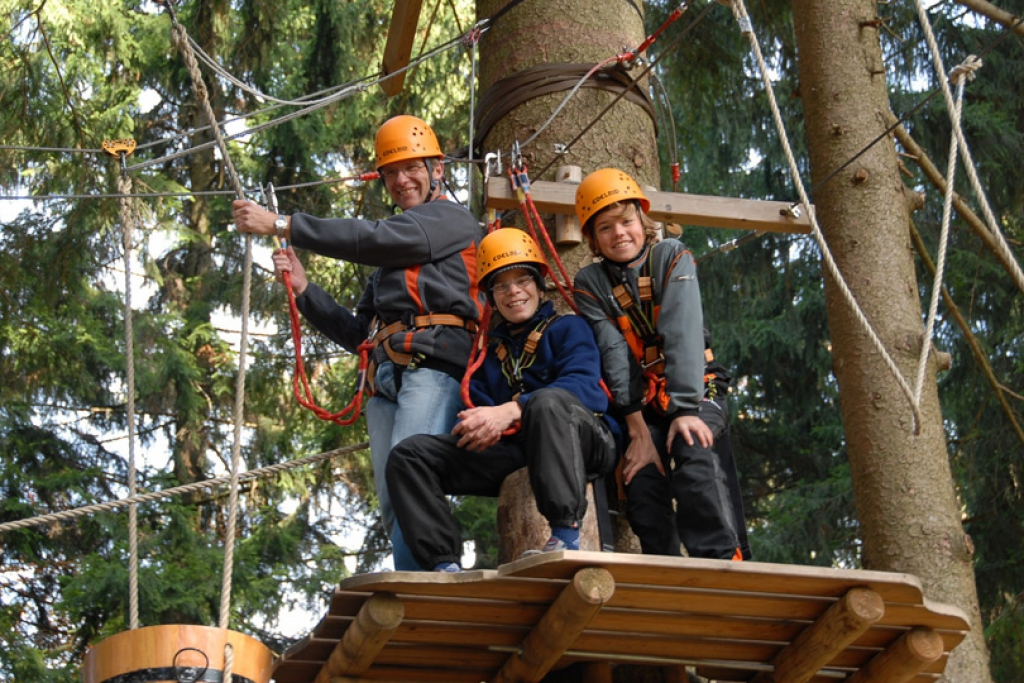 Kletterwald High Ropes Course